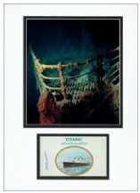 Edith Haisman Autograph Signed Postcard Display - Titanic